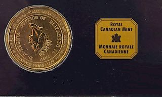 1997 Canadian $50 1 Oz .9999 Gold Mountie Coin