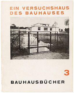 BAUHAUSBUECHER 3, EIN VERSUCHSHAUS DES BAUHAUSES IN WEIMAR, 1925