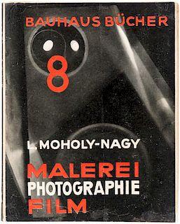 LASZLO MOHOLY-NAGY, BAUHAUSBUECHER 8: MALEREI, PHOTOGRAPHIE, FILM, 1925