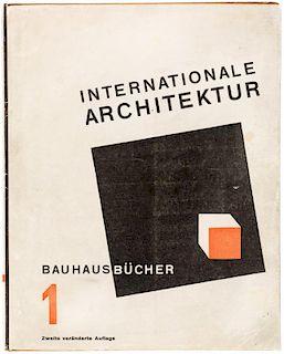 WALTER GROPIUS, BAUHAUSBUECHER 1: INTERNATIONALE ARCHTEKTUR, 1925