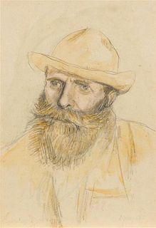 Charles Emile Auguste Carolus-Duran , (French, 1838-1917) , Portrait of Claude Monet