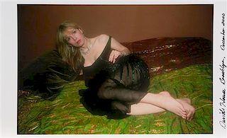 Nan Goldin, (American, b. 1953), David's House Brooklyn, December 2000, 2000, Untitled (Joey in Bed in Black), David's House Apa
