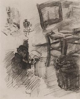 James Ensor, (Belgian, 1860-1949), Untitled (Sketchbook Page)