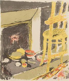 * Edouard Vuillard, (French, 1868-1940), L'atre (plate 8 from Paysages et interieurs), 1899