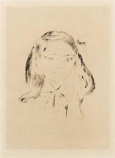 Edvard Munch, (Norwegian, 1863-1944), Paul Cassirers Tochter, 1906