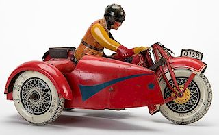 Big Red 0158 with Sidecar