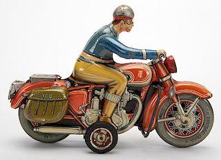 Civilian Rider with Saddlebags