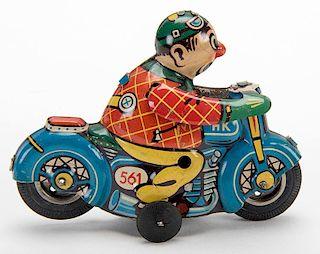 Flip-Over Motorcycle
