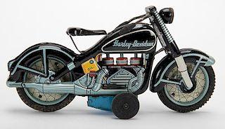 Harley Davidson Moving Cylinder Motorcycle
