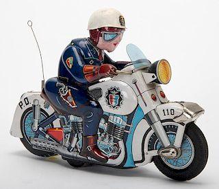 Highway Patrol Police Motorcycle
