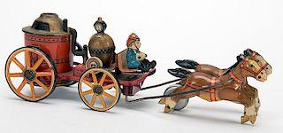 Horse-Drawn Firefighting Vehicle