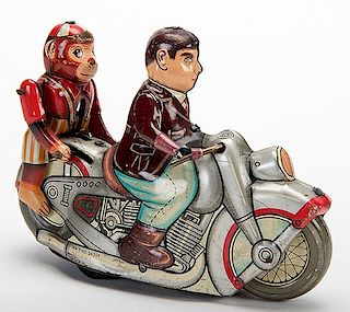 Jumping Monkey Motorcycle
