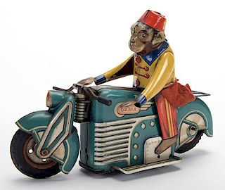 Monkey with a Fez Motorcycle