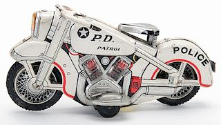 P.D. Patrol Motorcycle