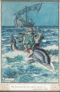 –The Myth of Arion and the Dolphin""