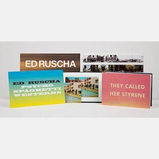 Ruscha, Ed (b. 1937).  They Called Her Styrene. London:  Phaidon Press Limited, 2000.