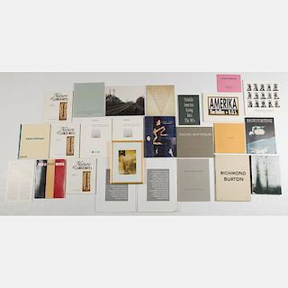 A Miscellaneous Collection of Exhibition Catalogs and Art Books, 20th Century,