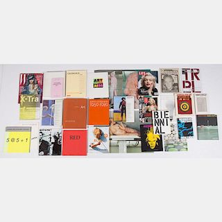 A Miscellaneous Collection of Books and Magazines Pertaining to Art and Other Topics, 20th Century,