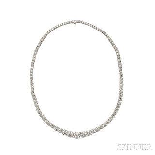 Platinum and Diamond Riviere, Harry Winston