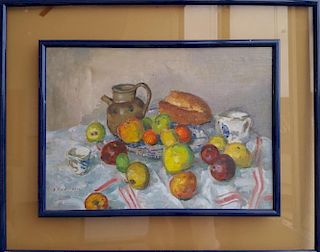 Impressionist Modern Painting Cezanne style