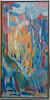 Hyde Solomon  (1911-1982) Modern Abstract Painting
