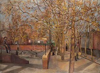 Edith Kramer New York City LARGE Painting