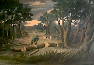 Emmanuel Gondouin (1883-1934) French Modernist Painting