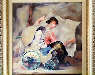 James Chapin oil painting