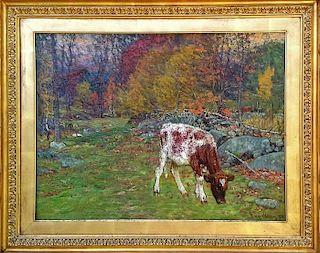 John Joseph Enneking  (1841-1916) oil painting