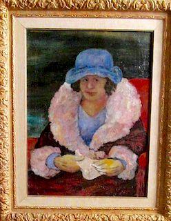 Sasha Moldovan (1901-1982) Important Painting