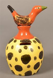 James Seagreaves  Pottery Jug Form Still Bank.