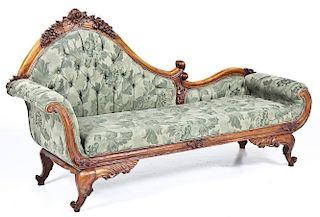 Victorian Style Rococo Revival Recamier