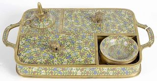 Cloisonné Sectional Tray