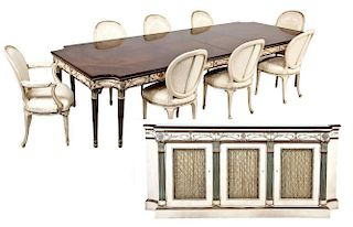 E.J. Victor Louis XVI Style Dining Room Set