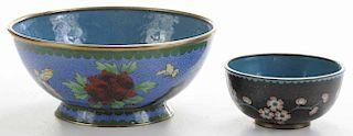 Two Cloisonné Bowls