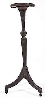 19th C Carved Wood Pedestal