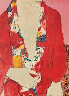 George Segal (American, 1924-2000) Color Lithograph