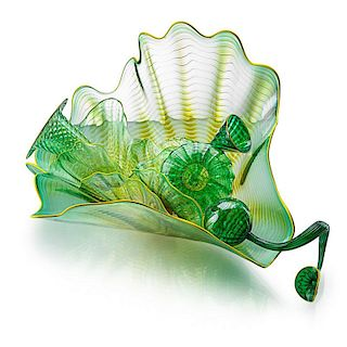 DALE CHIHULY Eight-piece Persian Set