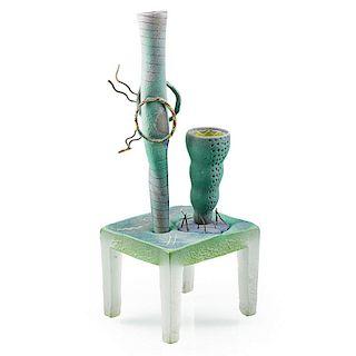 JOSE CHARDIET Glass sculpture