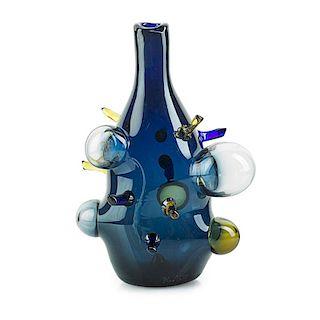 PAVEL HLAVA Glass vase