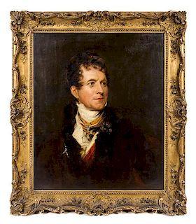 After Sir Thomas Lawrence, (British, 1769-1830), Frederick von Gentz (1764-1832)