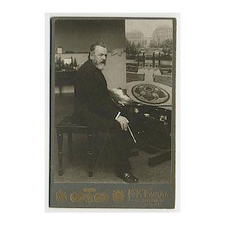 Russian Artist Pavel Bryullov, Photograph 1900's