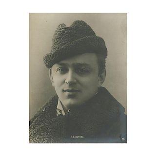 Leonid Sobinov, Russian Operatic Tenor, 1900's