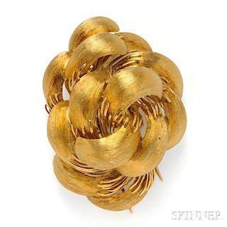 18kt Gold Brooch