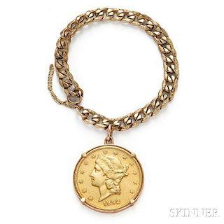 1892 Liberty Head Twenty Dollar Gold Coin