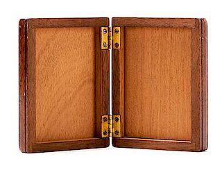 Lock Flap Card Box