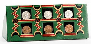 T.J. Crawford's Coin Rack