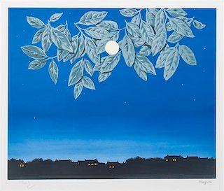 Rene Magritte, (Belgian, 1898-1967), La Page Blance Series 3