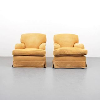 Pair of Peter Dudgeon 'Modern Easy' Arm Chairs