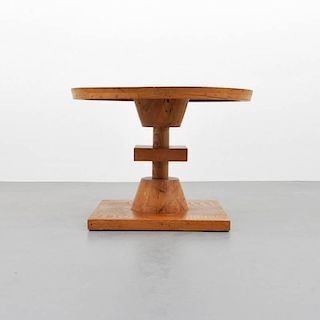Wormy Chestnut Occasional Table